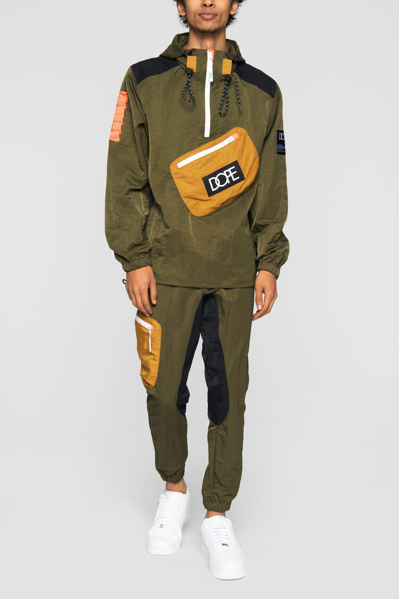 DOPE Nomad Anorak #Army Green