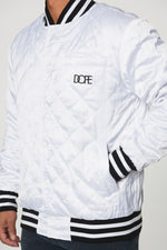 DOPE Sideline Reversible Satin Bomber #Red