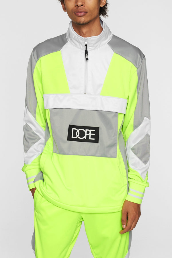DOPE Sprinter Pullover #Safety/Green
