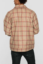 Load image into Gallery viewer, DOPE Tartan Jacket #Tan