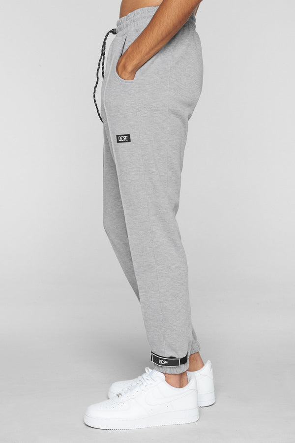DOPE Core-Tek Pleated Joggers #Heather/Grey