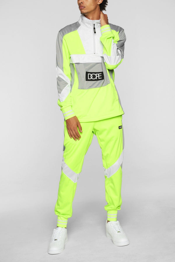 DOPE Sprinter Track Pants #Safety/Green
