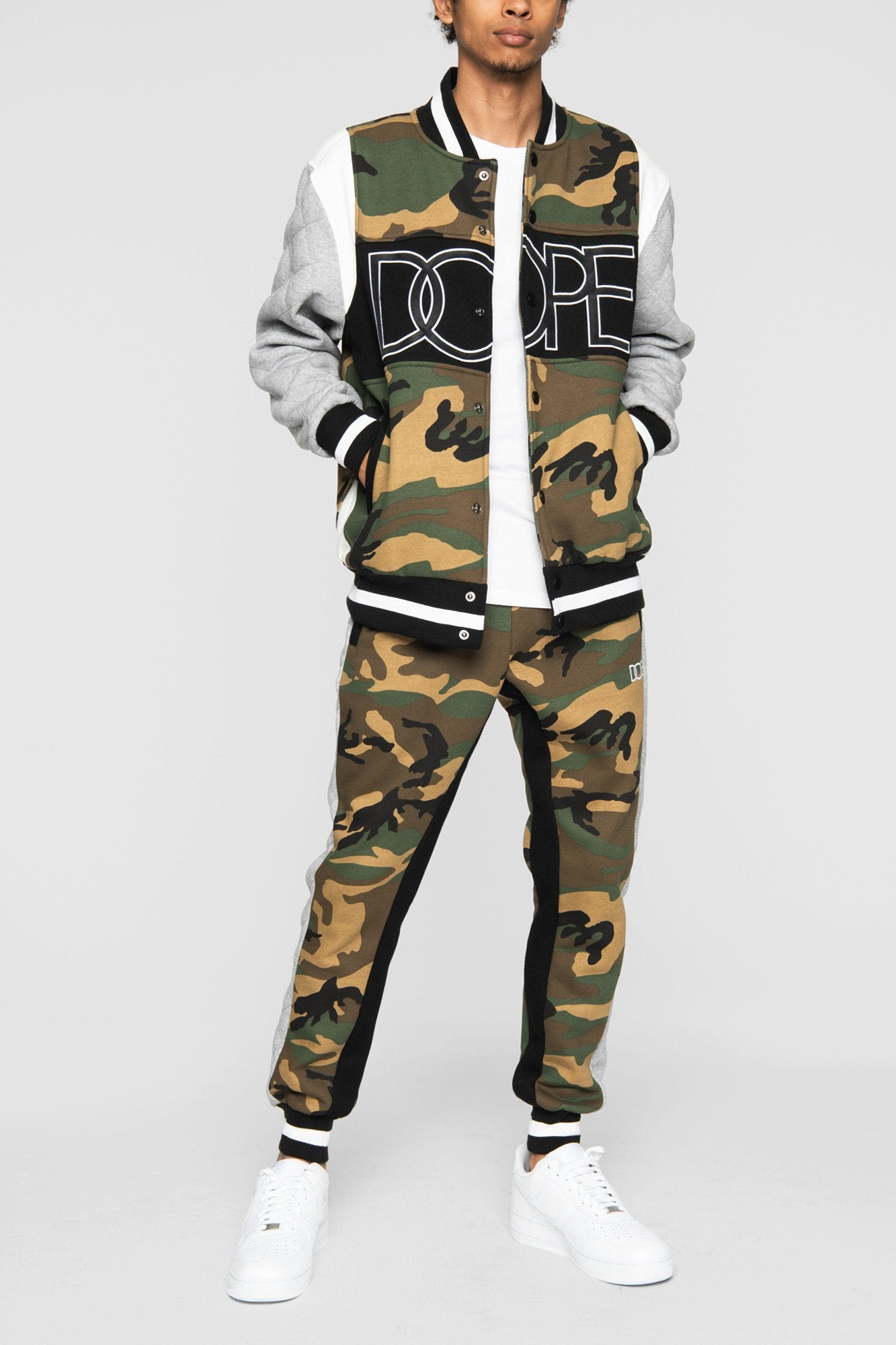 DOPE Rally Jogger Sweatpants #Woodland Camo