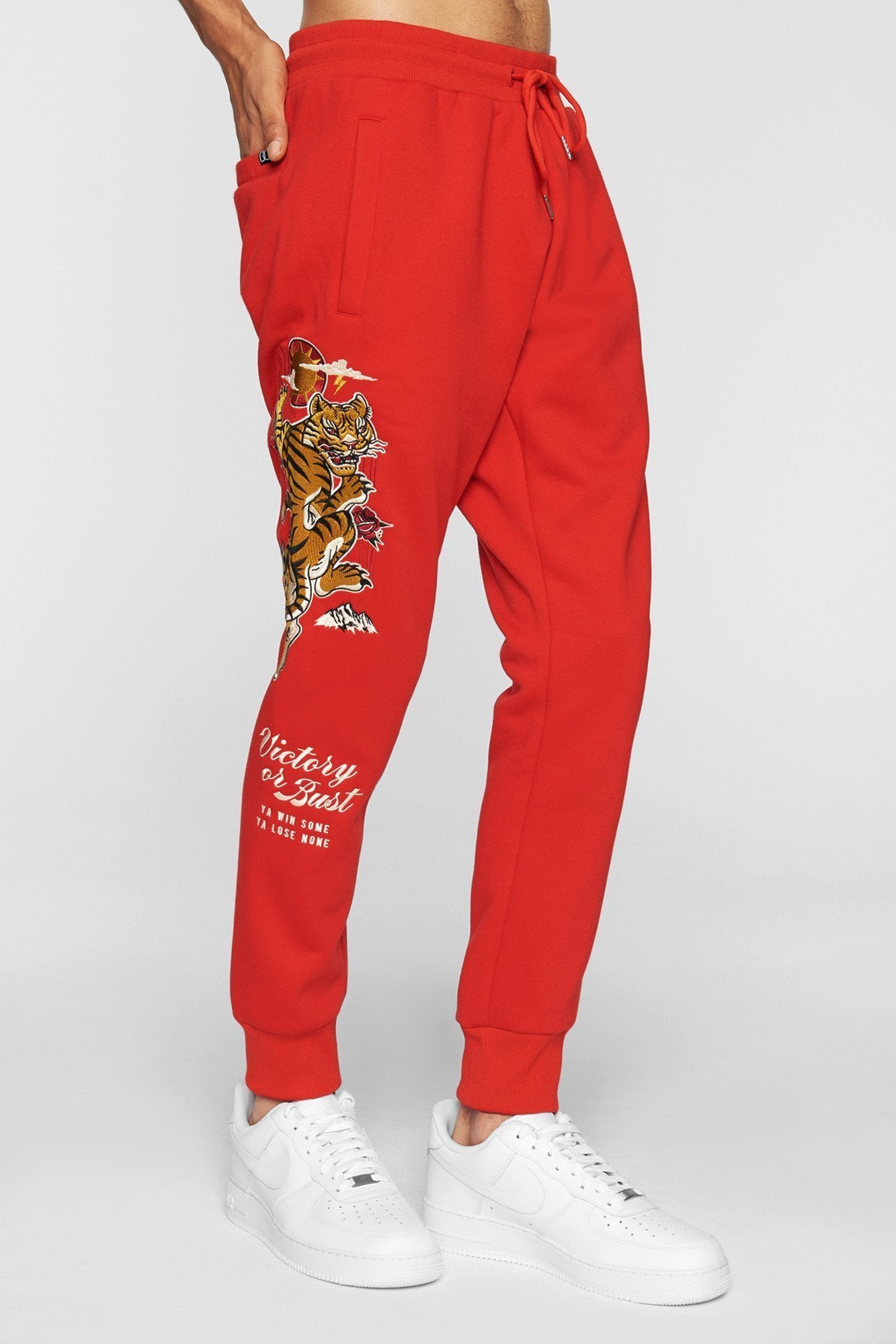 DOPE Tigris Sweatpants #Red