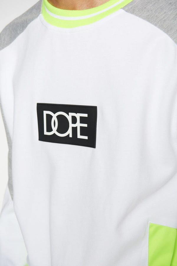 DOPE Sprinter Crew #White/Grey/Safety
