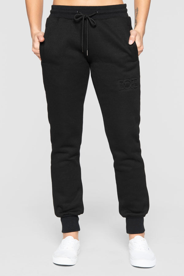 DOPE Embossed Sweats #Black