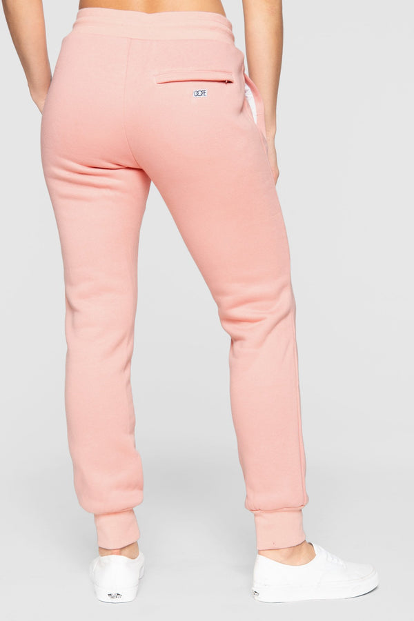 DOPE Embossed Sweats #Coral
