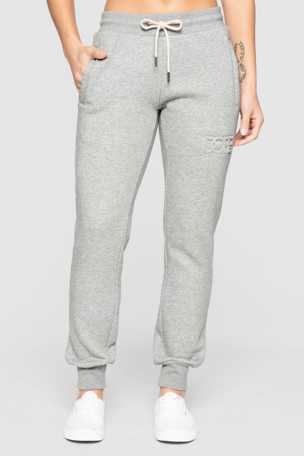 DOPE Embossed Sweats #Heather Grey