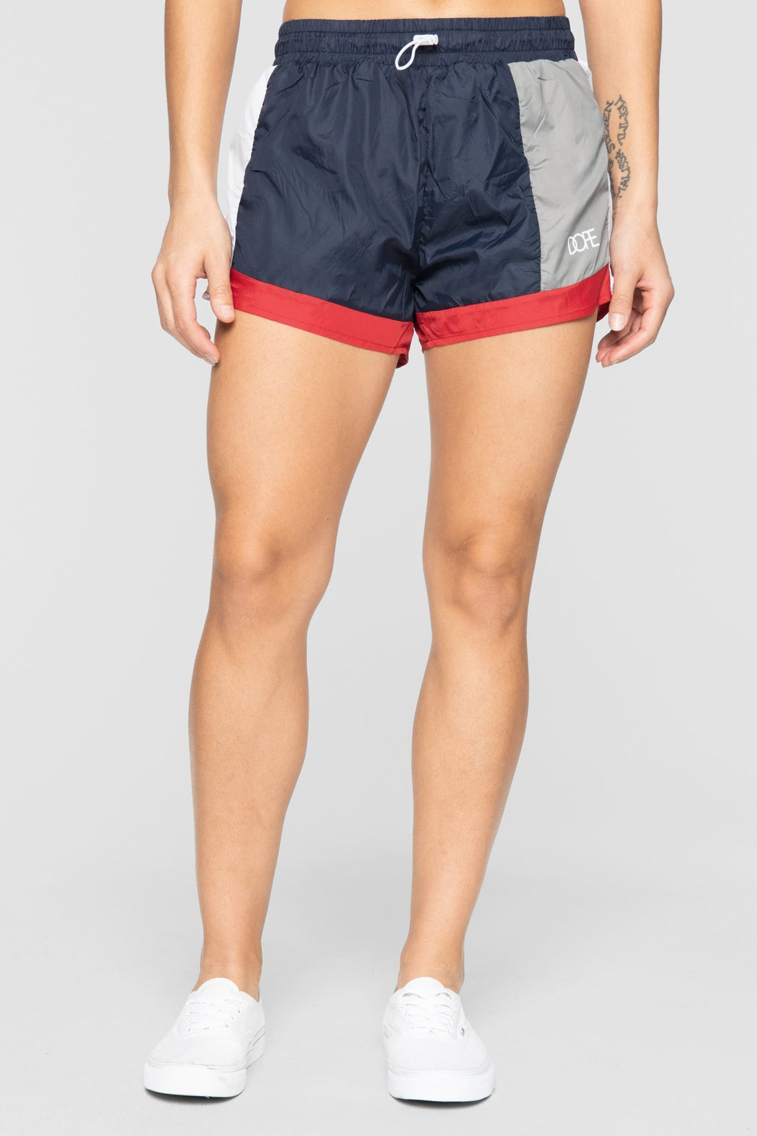 DOPE Nuova Running Shorts #Navy/Red