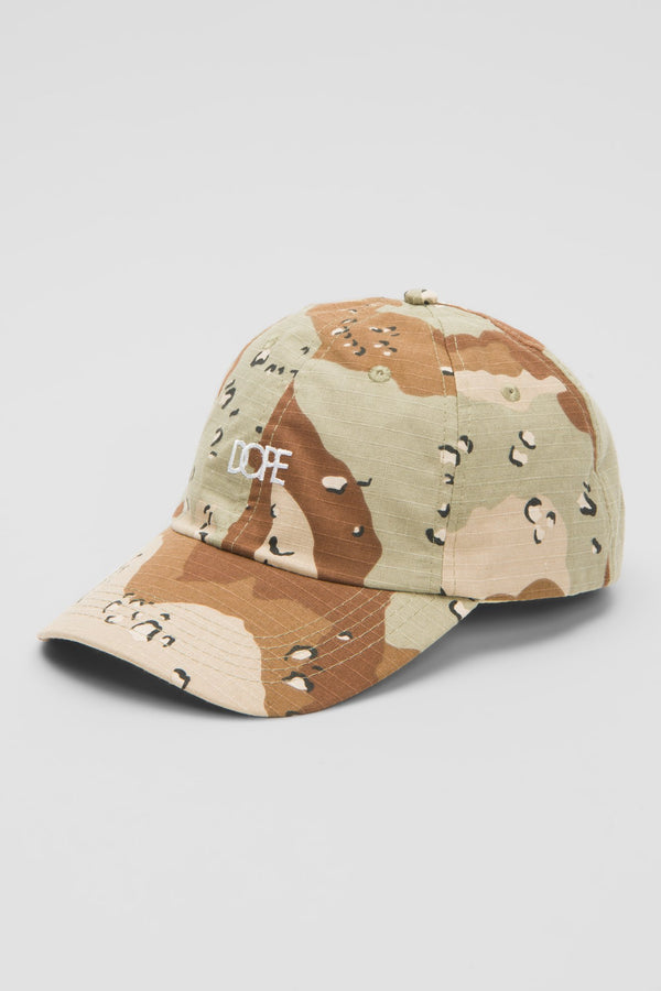 DOPE Woodsman Dad Hat #Desert Camo