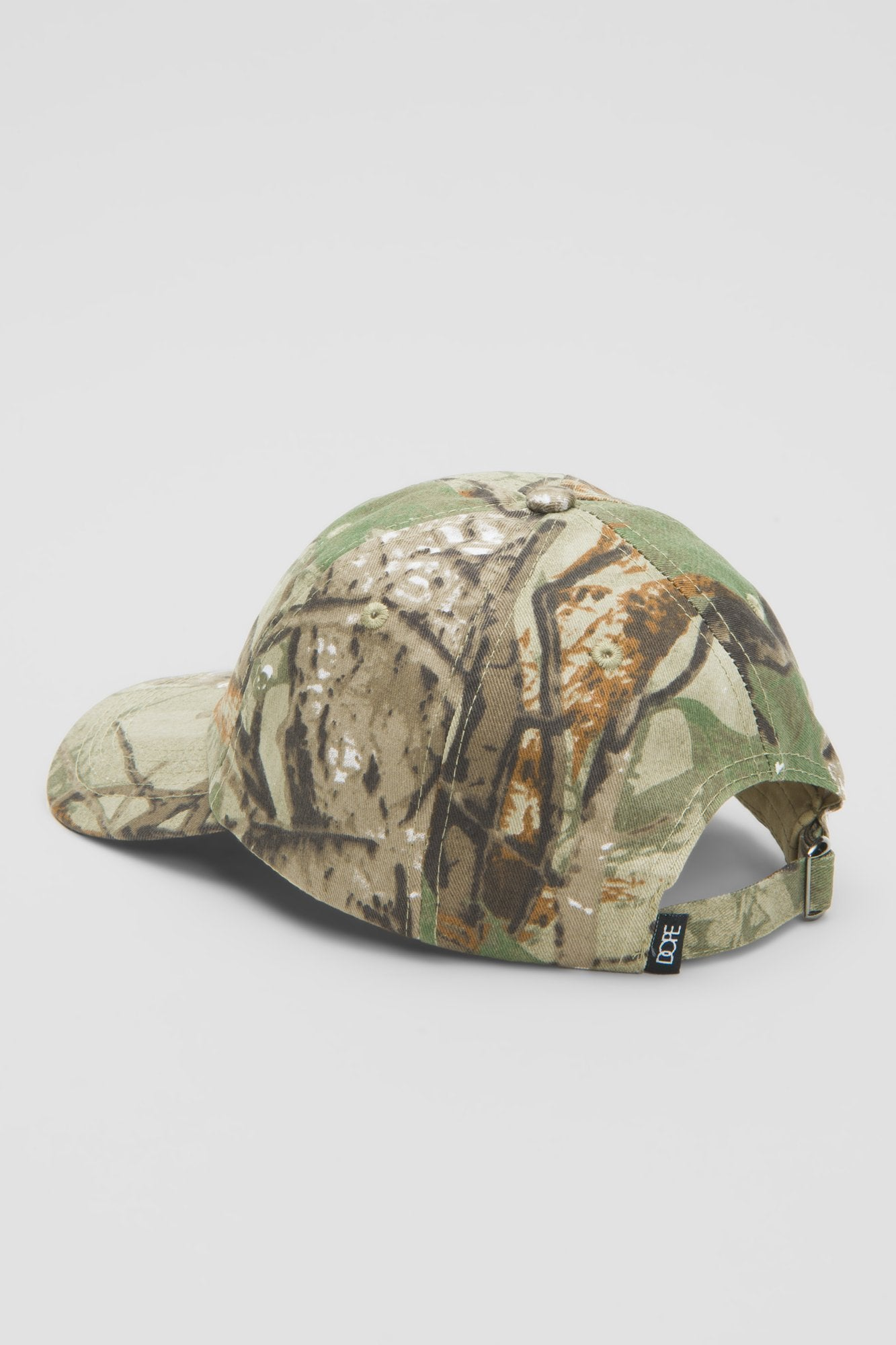 DOPE Woodsman Dad Hat #Tree Camo