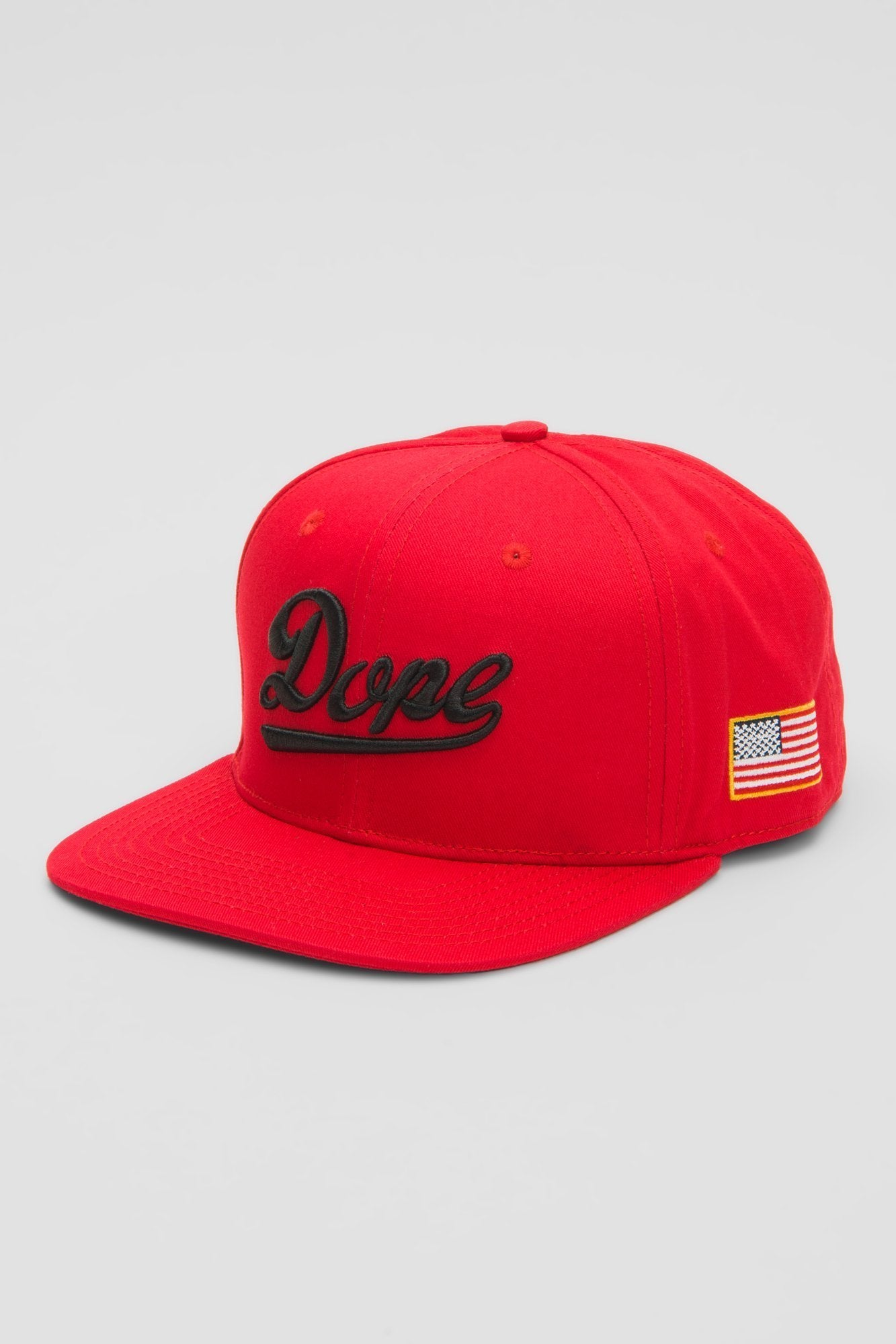 DOPE Infield Snapback #Red