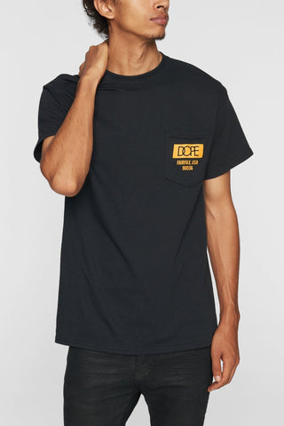 DOPE Quality Dope Pocket Tee #Black