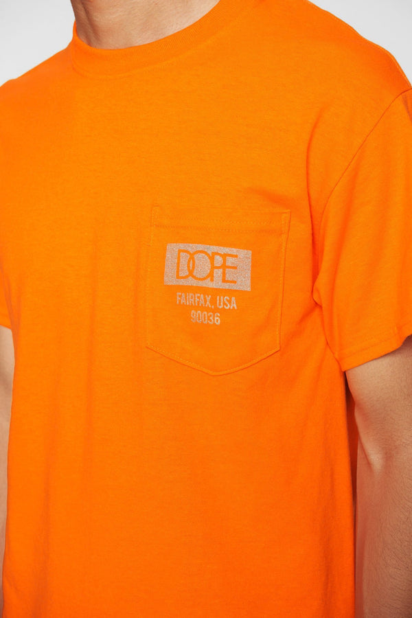 DOPE Quality Dope Pocket Tee #Orange