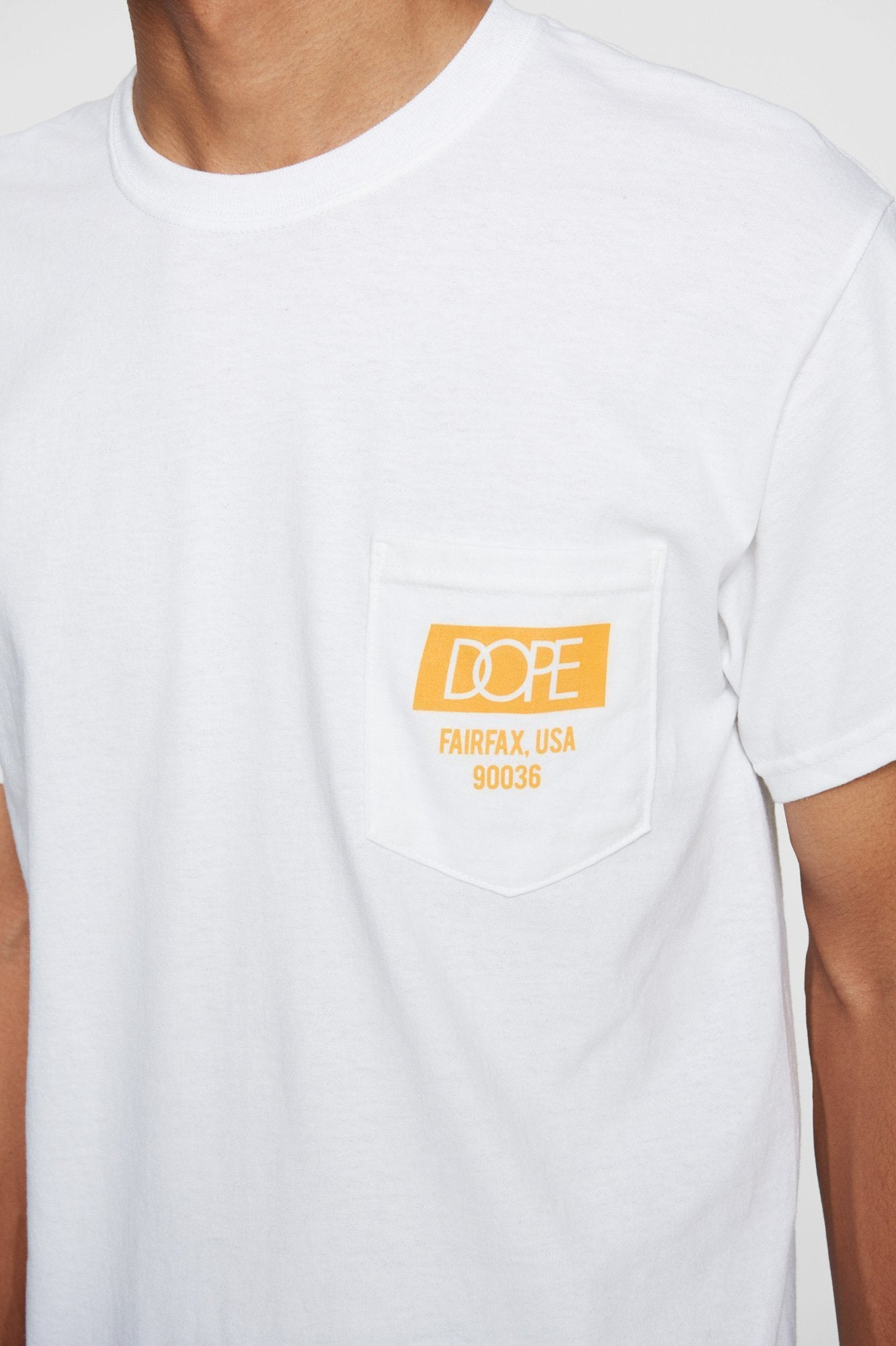 DOPE Quality Dope Pocket Tee #White