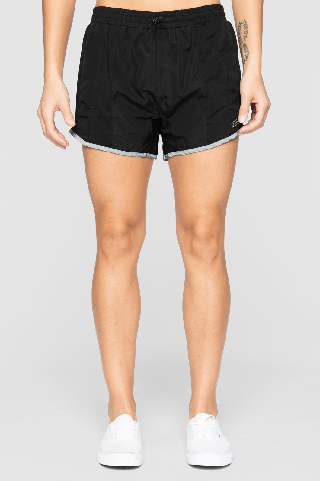 DOPE Reflective Running Shorts #Black