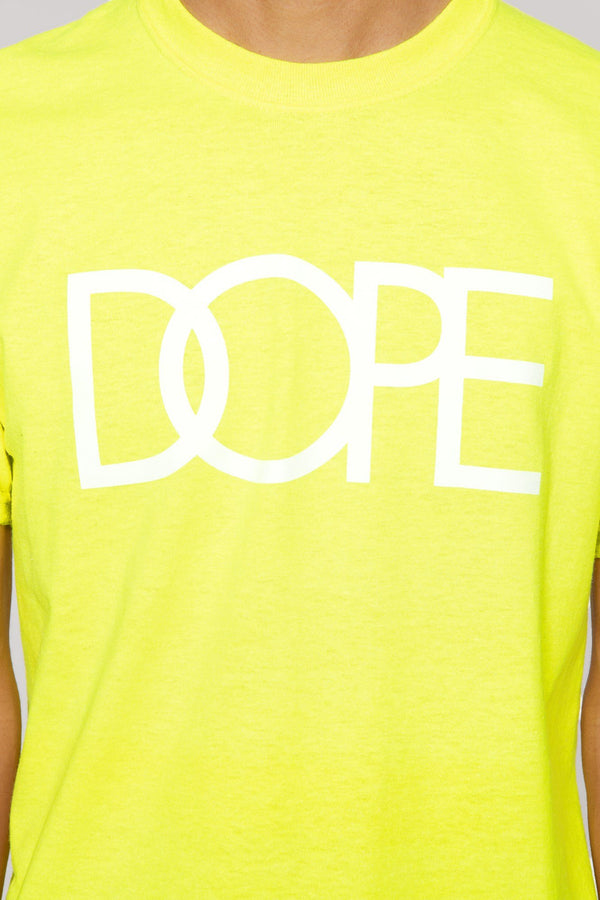DOPE Classic Logo Tee #Safety Green