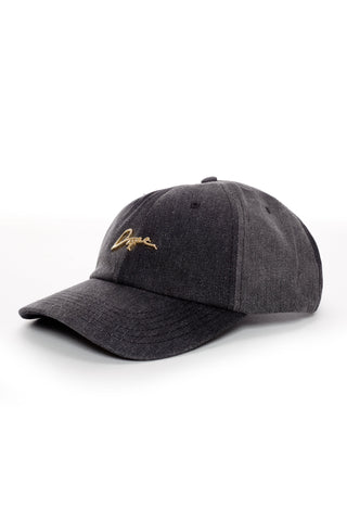 DOPE 24K Script Denim Dad Hat #Black