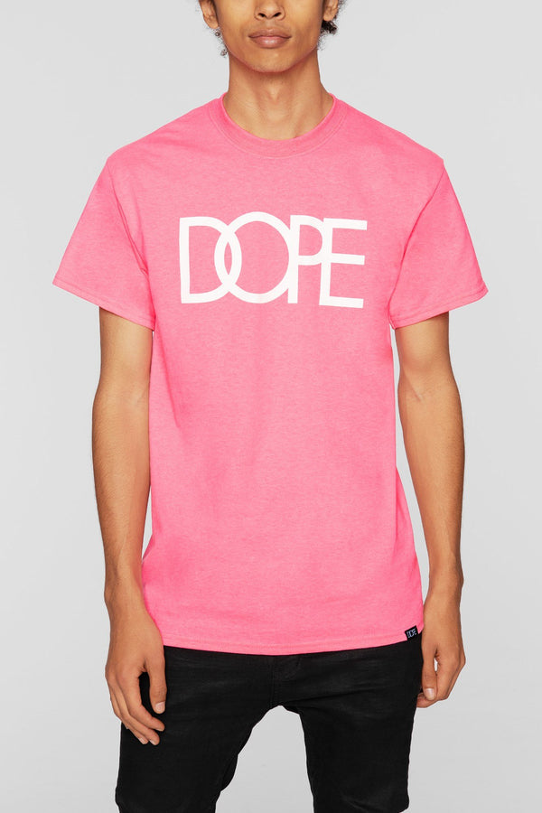 DOPE Classic Logo Tee #Hot Pink