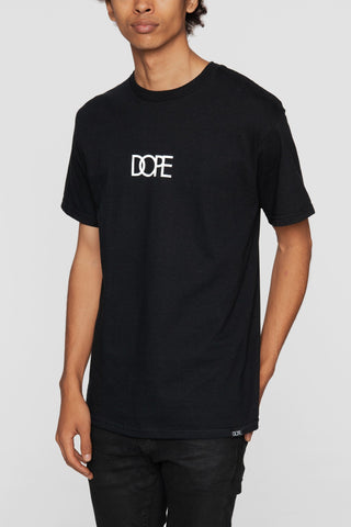 DOPE Small Logo Tee #Black