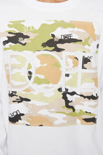 Load image into Gallery viewer, DOPE Camo L/S Crew #White
