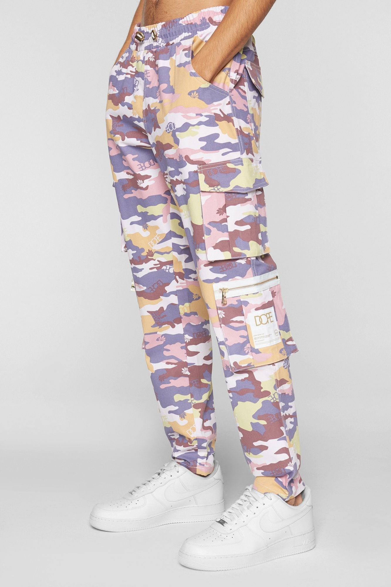 DOPE Camo Sateen Pant #Purple