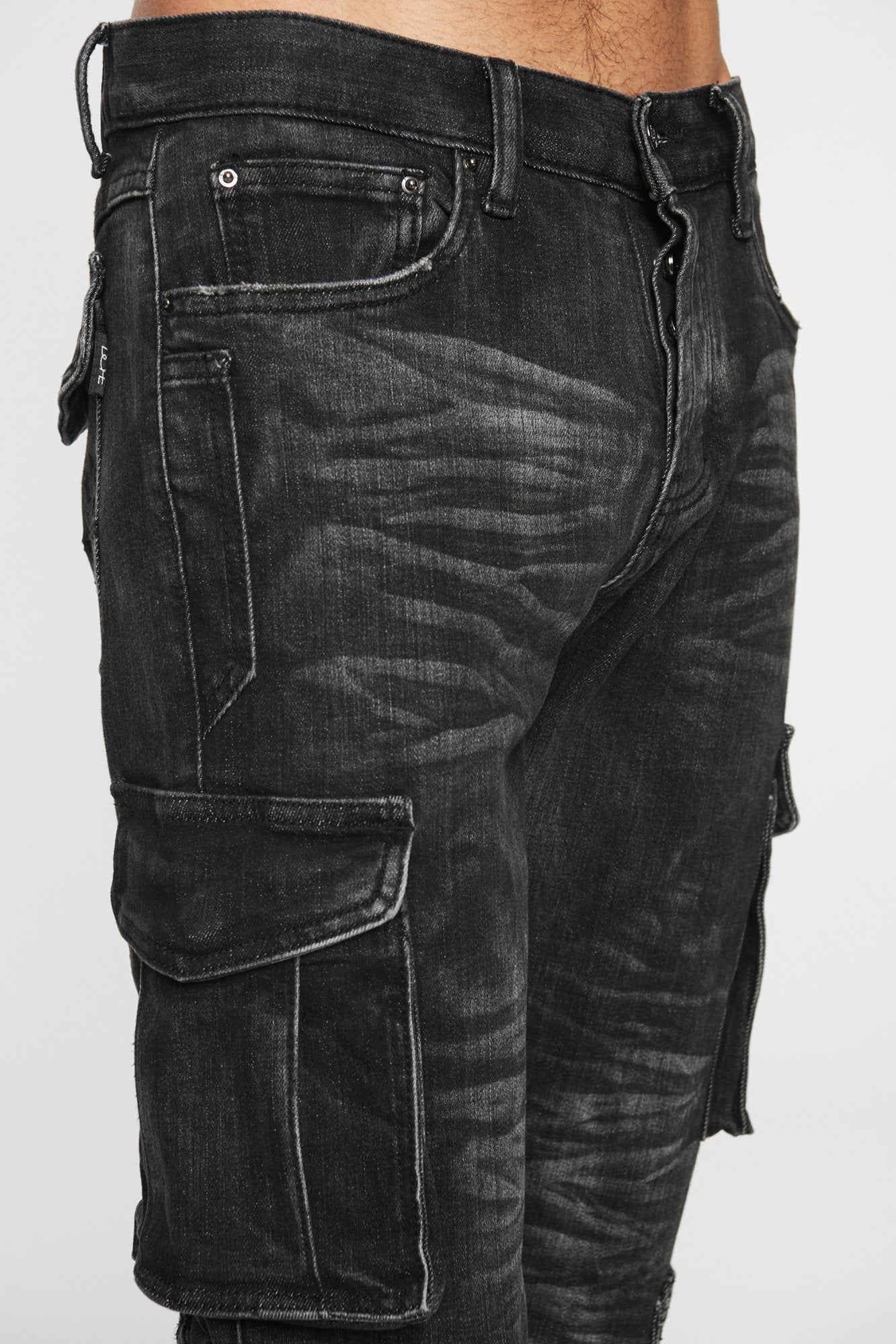 DOPE Cargo Denim #Black