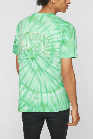 DOPE Savers Tie Dye Tee #Green