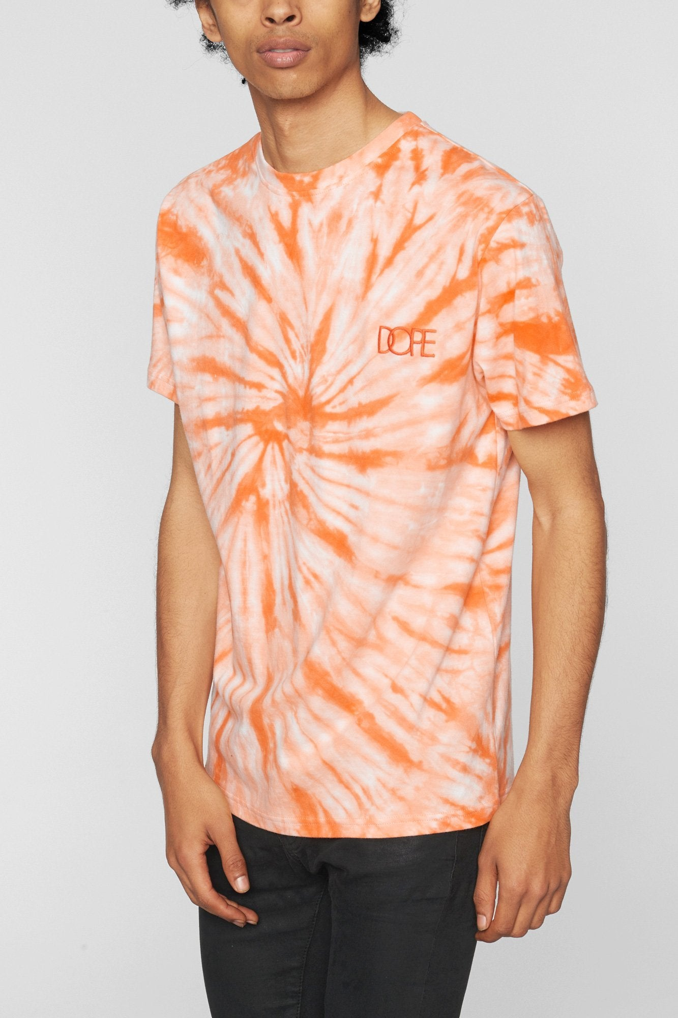 DOPE Savers Tie Dye Tee #Orange