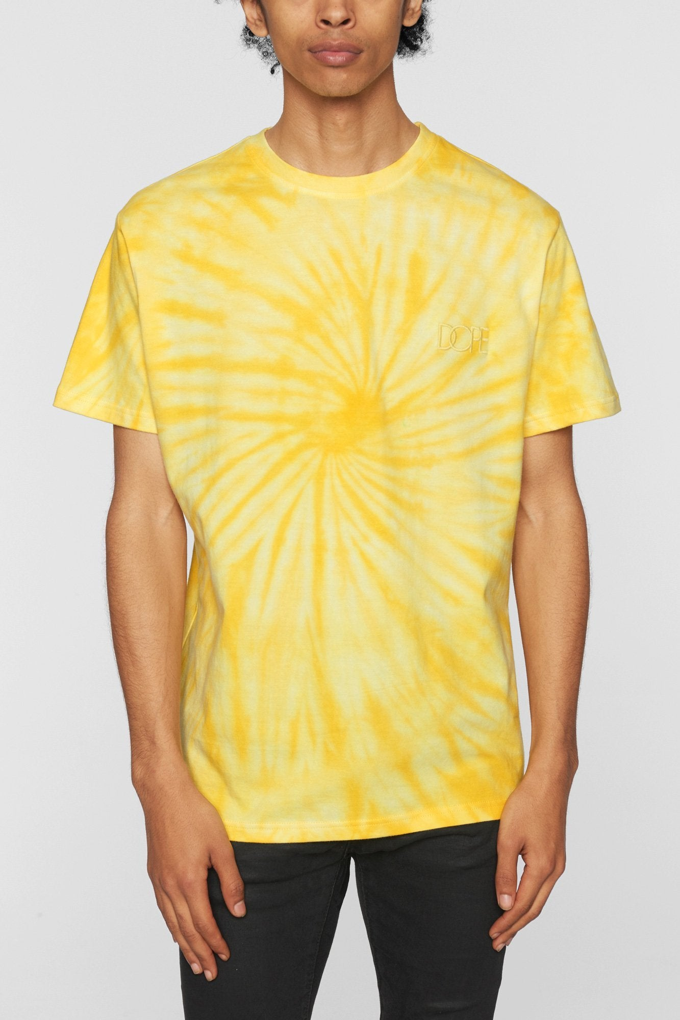 DOPE Savers Tie Dye Tee #Yellow