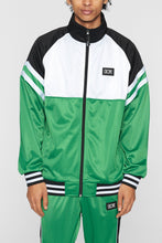 Load image into Gallery viewer, DOPE Core Track Jacket #Green