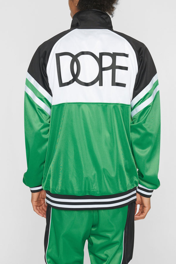 DOPE Core Track Jacket #Green
