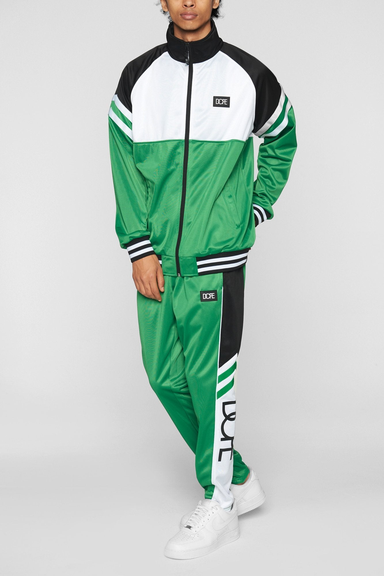 DOPE Core Track Pant #Green