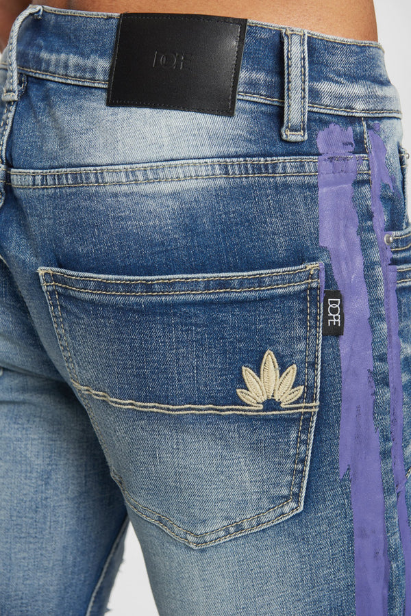 DOPE Camo Down Denim #Purple