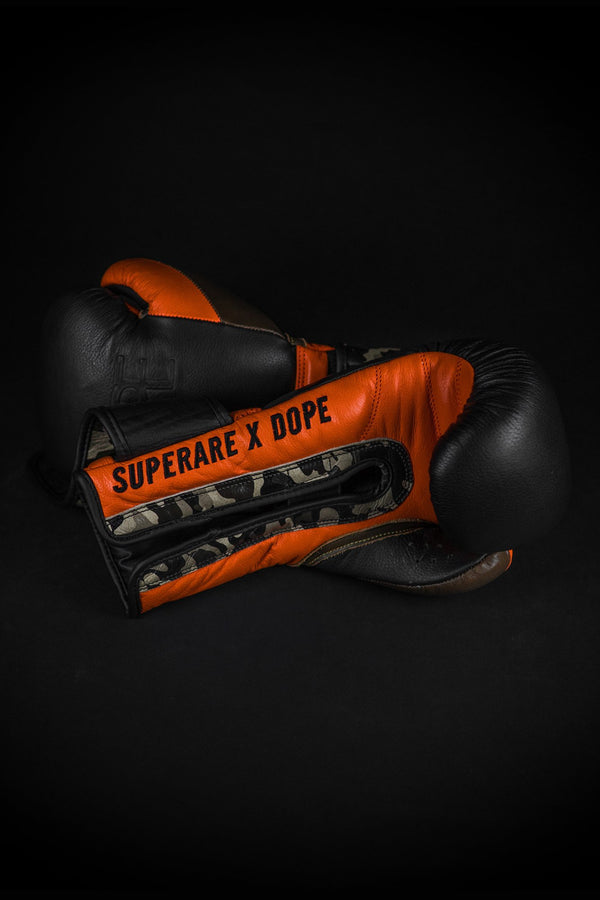 DOPE X Superare Velcro Gloves #Black