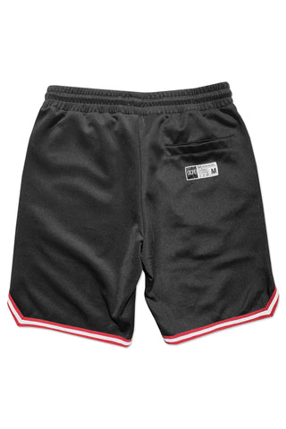 DOPE Infield Shorts #Black/Red