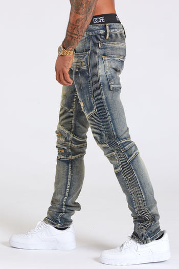 Dope King denim #Blue