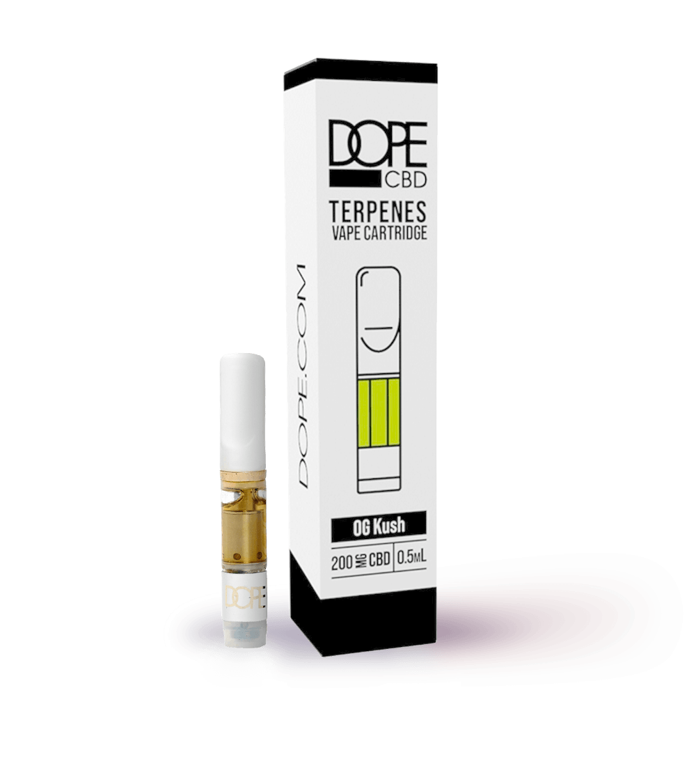 CBD Terpene Cartridge - OG Kush - 200mg