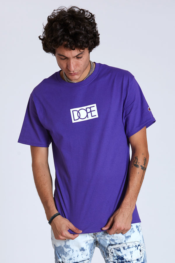 Dope Bogo Champion Tee #Purple