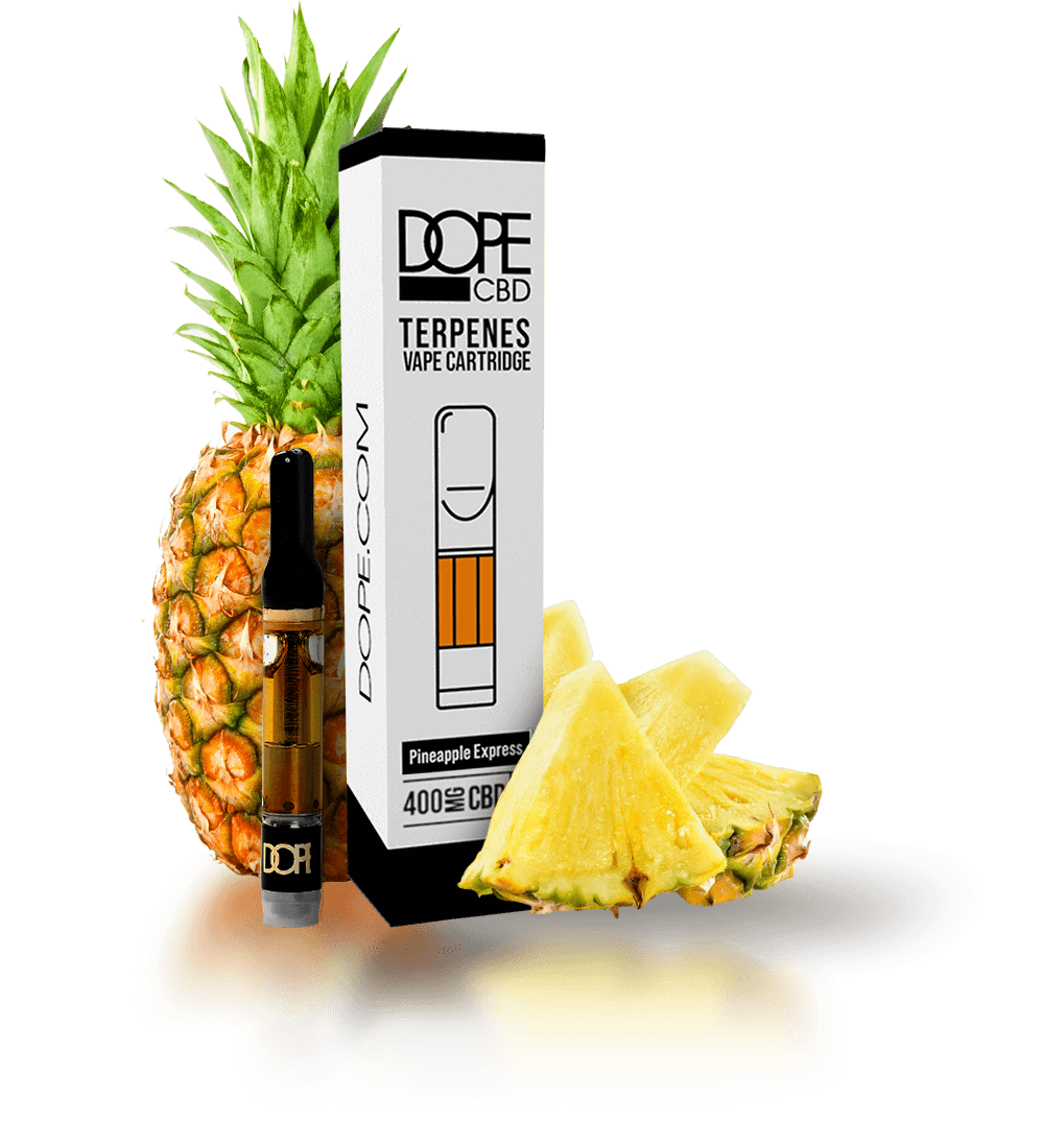 CBD Terpene Cartridge - Pineapple Express - 400mg