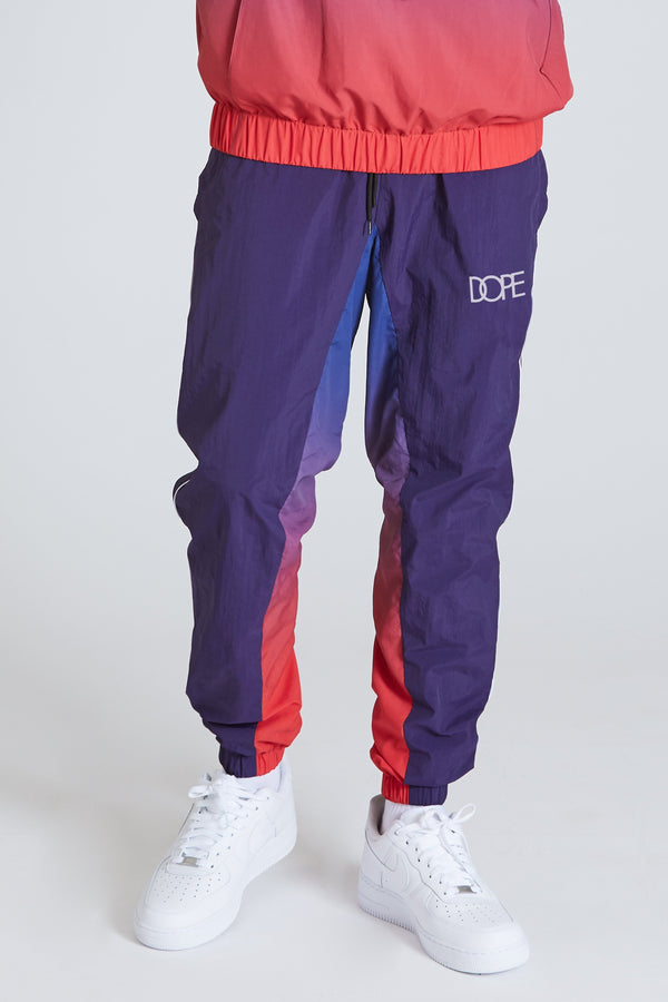 DOPE Retro Windbreaker Pant #Navy