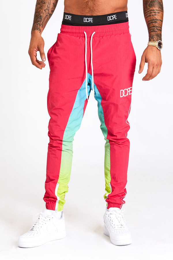 DOPE Retro Windbreaker Pant #Neon
