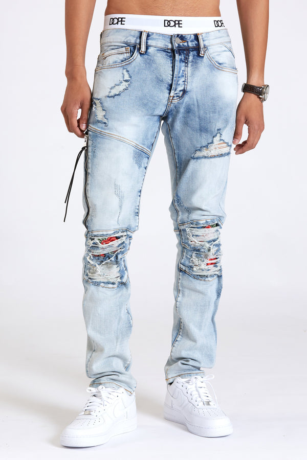 DOPE Roses Denim #Light Blue
