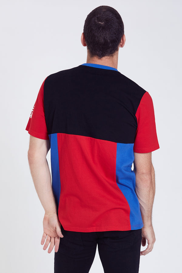 DOPE 100% cotton jersey t-shirt #Red/Black
