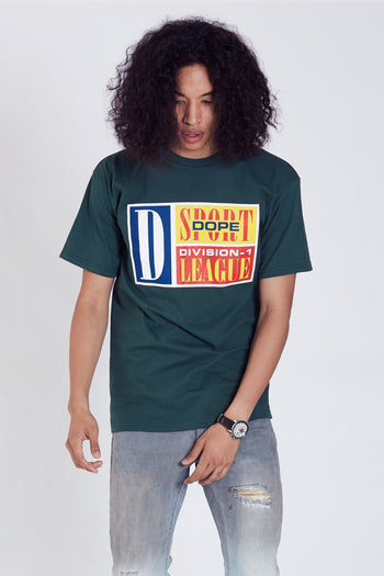 DOPE Sportsman Tee #Green
