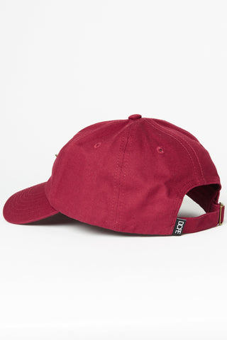 DOPE 24K Script Dad Hat #Burgundy