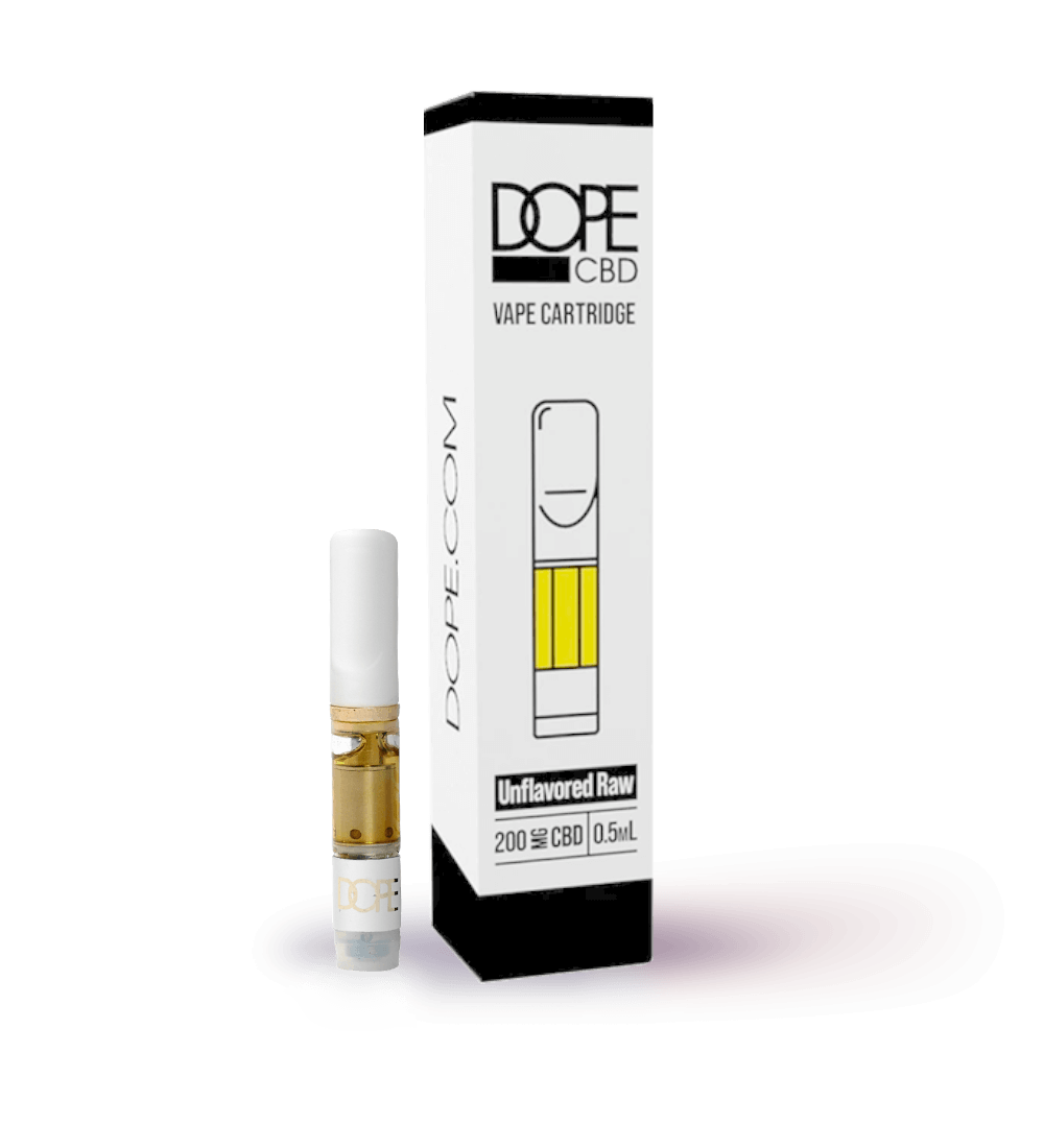 CBD Cartridge - Unflavored (Raw) - 200mg