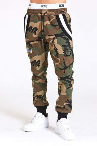 DOPE Veterans Quilted Joggers #Camo