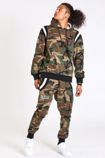 DOPE Veterans Quilted Hoodie #Camo