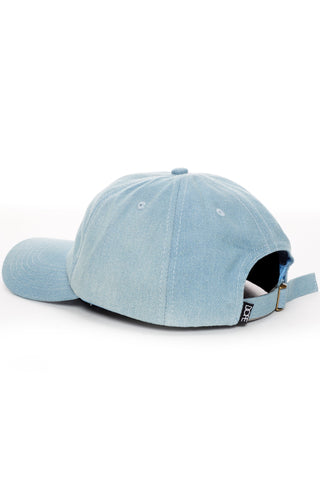 DOPE 24K Script Denim Dad Hat #Light Blue